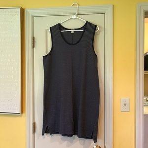 J.Crew Navy/White Stripe Tank Dress